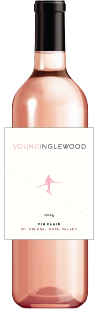 Bottle of Young Inglewood Vin Clair Ros&eacute