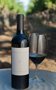 'Bottle of Young Inglewood 2013 Estate Cabernet'