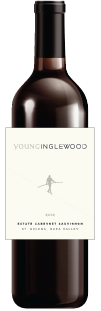 'Bottle of Young Inglewood 2013 Estate Cabernet Sauvignon'