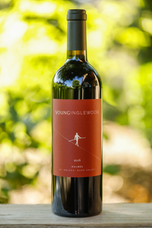 'Bottle of Young Inglewood Estate Malbec'
