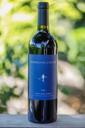 'Bottle of Young Inglewood 2016 Right Bank Blend'